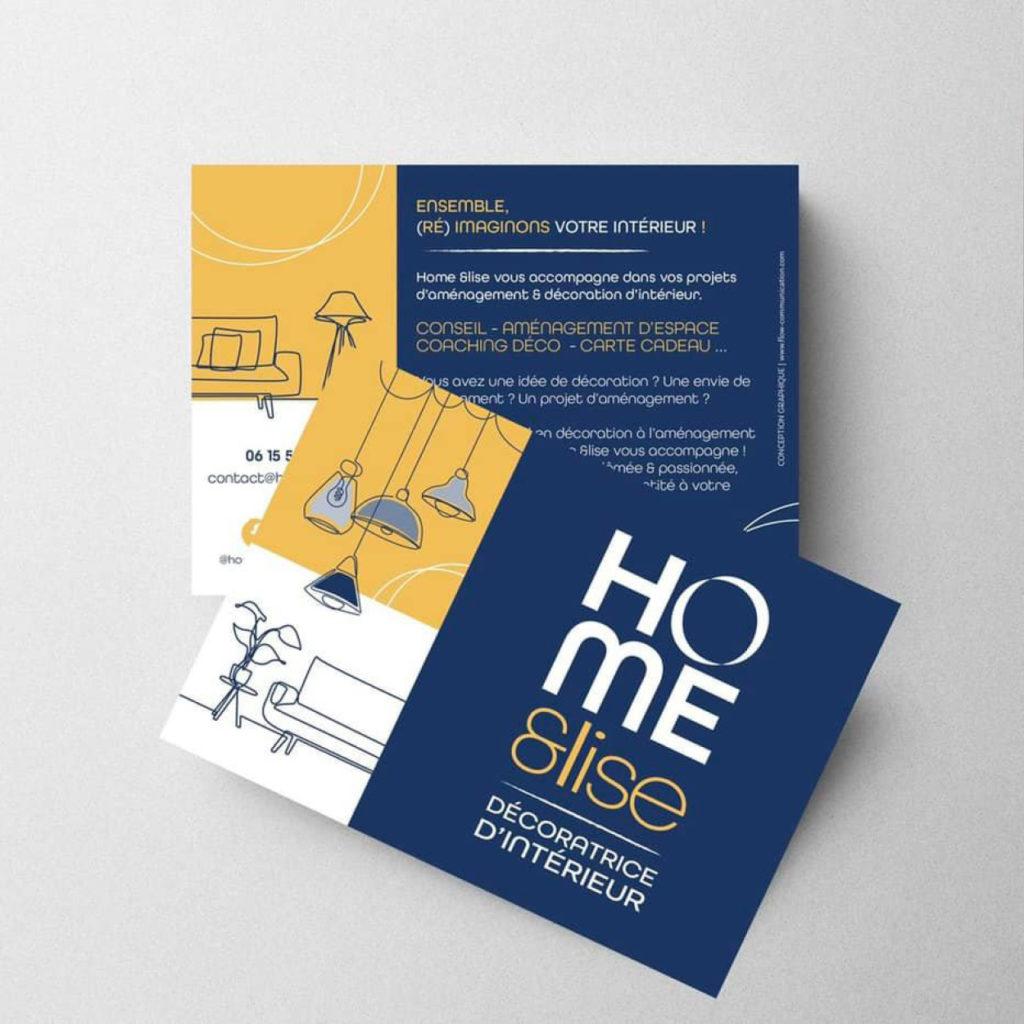 Création flyer Flow communication